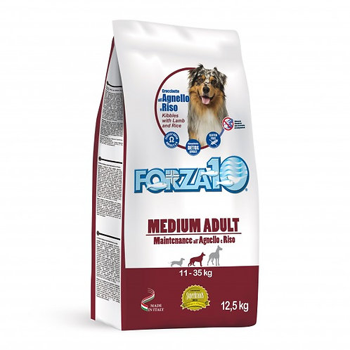 Forza 10  Maintenance Medium con Agnello e Riso da 12,5 Kg