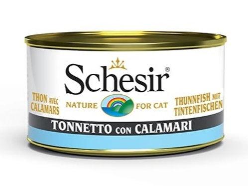 Schesir - Specialità del Mare Tonnetto e Calamari in Gelatina 85 Gr.