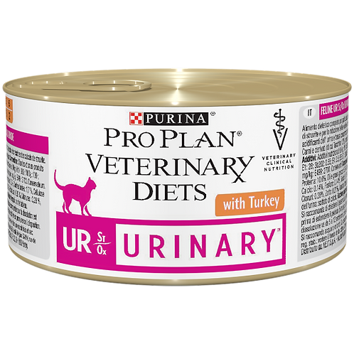 PURINA PRO PLAN VETERINARY DIETS UR Urinary St/Ox con tacchino 195 Gr.