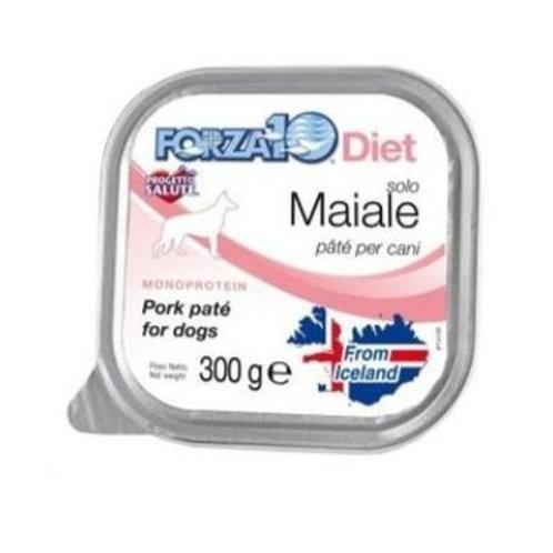 Forza 10 - Cane Diet Paté Solo Maiale 300 gr.