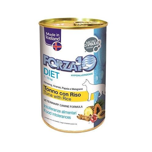 Forza 10 - Cane Paté Diet Tonno e Riso 400 gr.