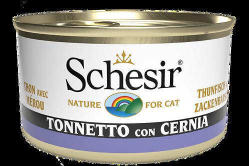 Schesir  Specialità di mare Tonnetto con Cernia 85 Gr.