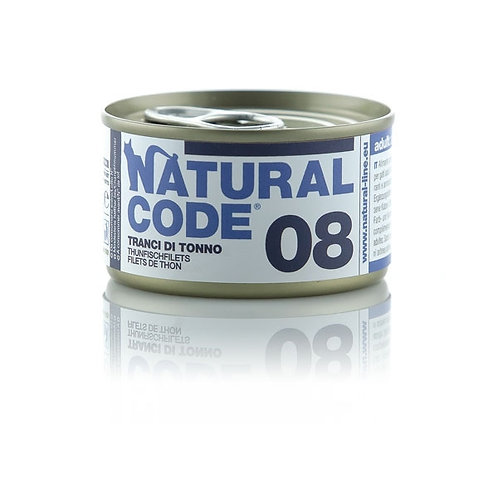 Natural Code - 08 Tranci di Tonno 85 Gr.