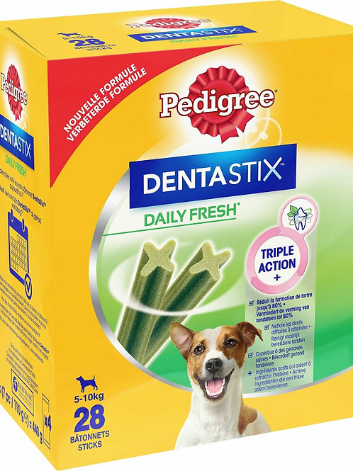 Pedigree Dentastix Daily Fresh Cane Mini 5-10 kg, 28 Bastoncini