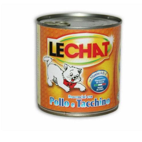 LeChat Bocconcini con Pollo e Tacchino 720 Gr.