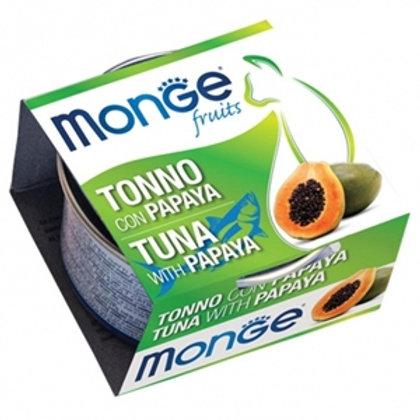 Monge - Natural Superpremium Fruits Tonno con Papaya