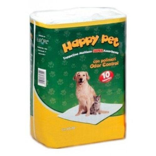 EuroFil Tappetini Assorbenti Happy Pet Cucciolo 10 Pezzi