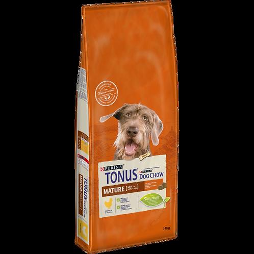 TONUS DOG CHOW Mature Adult Cane Crocchette con Pollo 14  Kg