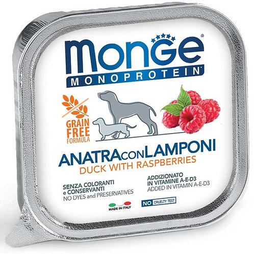 Monge Pate' Monoproteico Anatra con Lamponi 150 Gr.