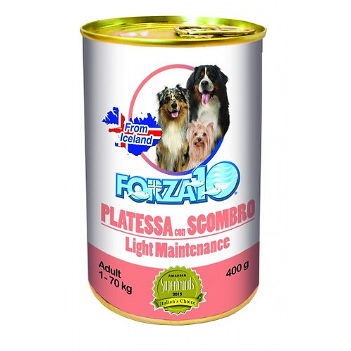 Forza 10 - Maintenance Light Platessa con Sgombro da 400gr