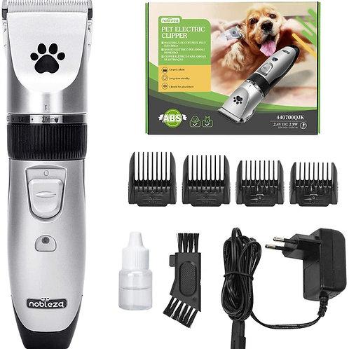 Tosatrice per Cani Kit Professionale Toelettatura Gatti Animali Clipper Ricarica