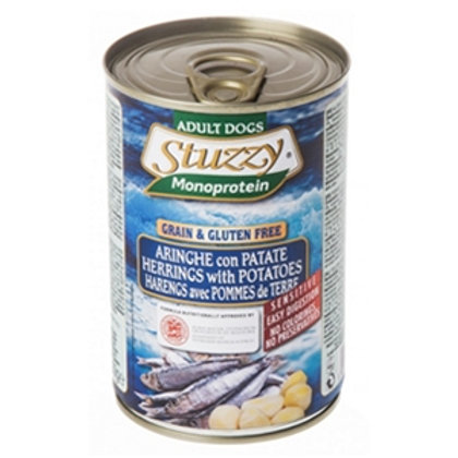 Stuzzy Dog - Monoprotein Aringa con Patate 800 Gr.