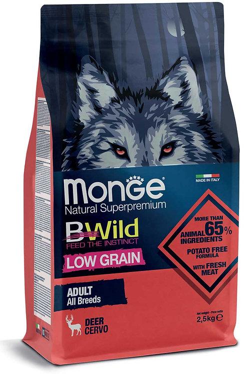 Monge Low Grain Cervo All Breeds Adult