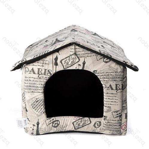 Cuccia Casetta, Morbida per Cani, Gatti e piccoli animali domestici
