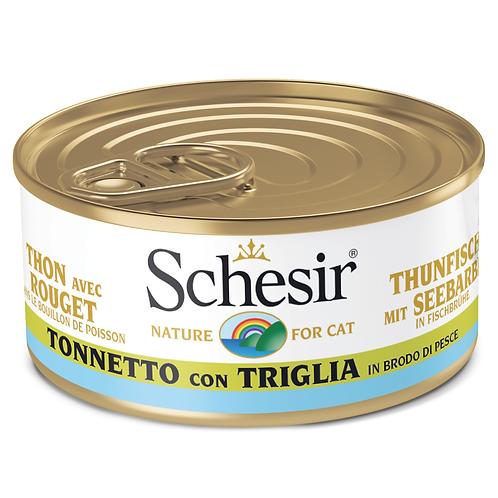Schesir Tonnetto con Triglia in Brodo di Pesce 70 Gr.