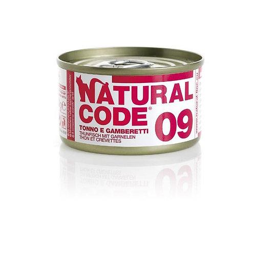 Natural Code - 09 Tonno e Gamberetti 85 Gr.