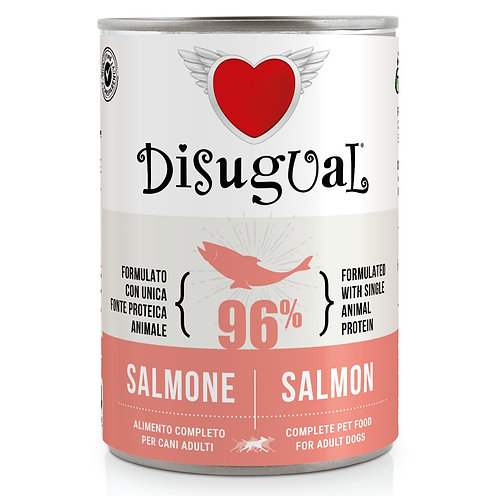 DISUGUAL  Adult All Breeds Monoproteico Ipoallergenico Salmone 400GR