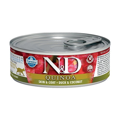Farmina Natural & Delicious Quinoa Skin & Coat Anatra e Cocco