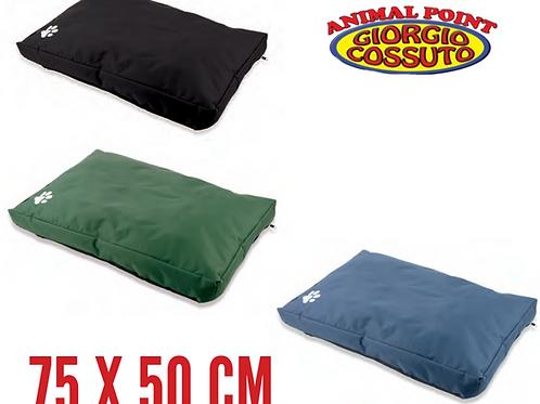 Cuscino Per Cani, Materassino Per Animali, Resistente, Tessuto Tecnico 75x50 cm.