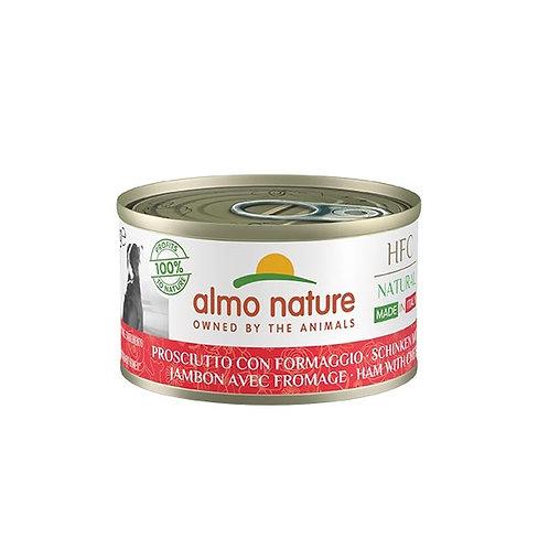 Almo Nature - HFC Natural Made in Italy Prosciutto con Formaggio 95 Gr.