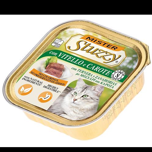 Mister Stuzzy Patè con Vitello e Carote 100 Gr.