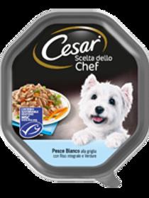 Cesar Scelta dello Chef con Pesce Bianco, Verdure e Riso in salsa 150 Gr.