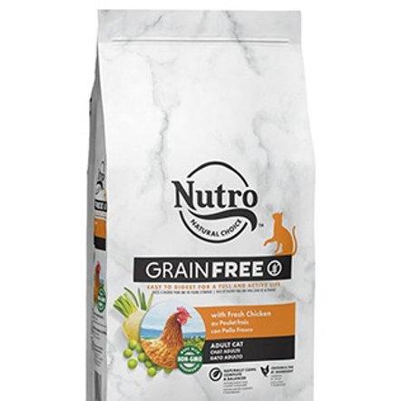 Nutro Grain Free Gatto Adulto con Pollo Fresco 1.4 Kg.