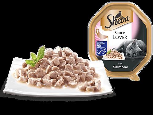 Sheba Sauce Lover con Salmone in salsa 85 Gr.