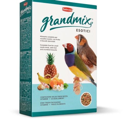 Padovan GRANDMIX ESOTICI Mangime completo per uccellini esotici diamanti 1 Kg.