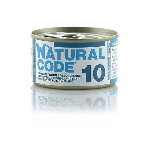 Natural Code - 10 Tonno e Bianchetti 85 Gr.