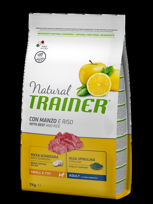 Natural Trainer Adult Mini Manzo e Riso 7 Kg.