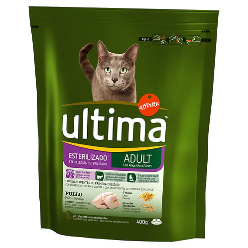Ultima Cat Sterilizzato Adult Pollo 400 Gr.