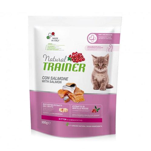 Natural Trainer Kitten con Pollo Salmone