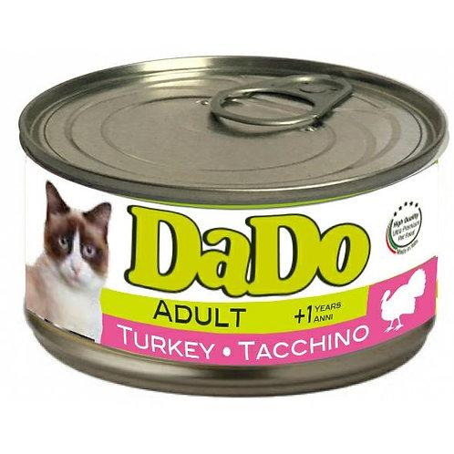 Dado Cat Adult Patè al Tacchino 85 Gr.