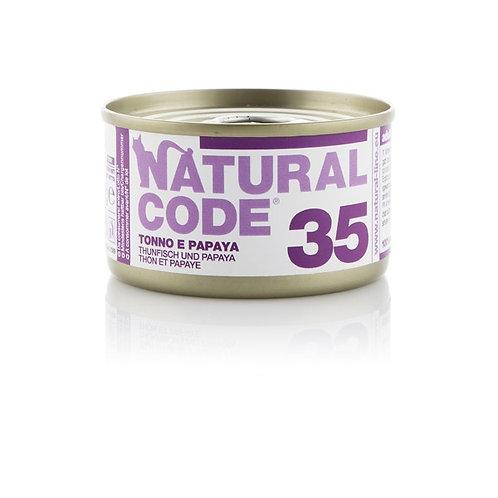 Natural Code - 35 Tonno e Papaya 85 Gr.