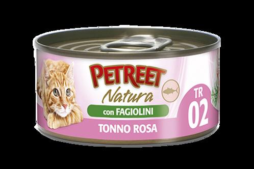 Petreet Natura Tonno Rosa e Fagiolini 140 Gr.