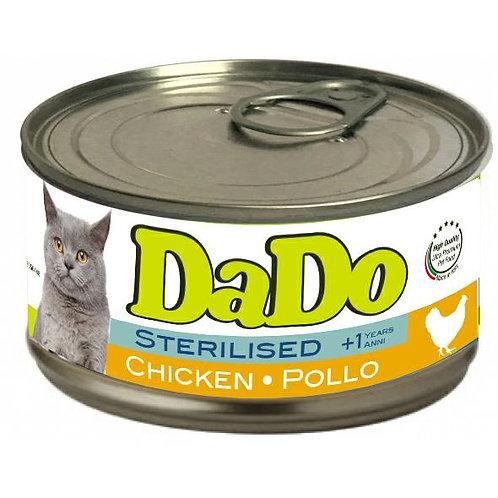 Dado Cat Sterilizzato Patè al Pollo 85 Gr.