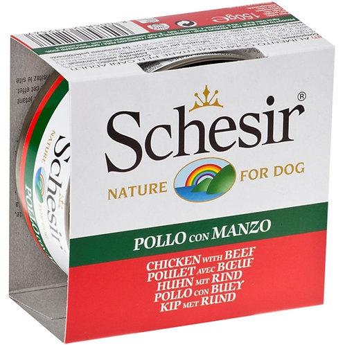 Schesir - Filetti di Pollo con Manzo in Gelatina 150 Gr.