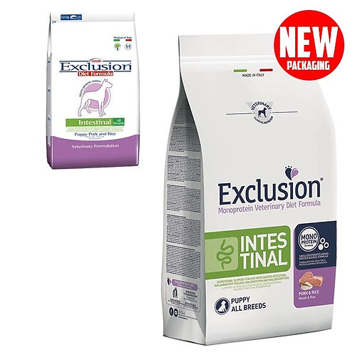 Exclusion - Diet Intestinal Maiale e Riso Puppy All Breed