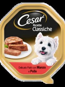 Cesar Delicato Paté con Manzo e Pollo 150 Gr.