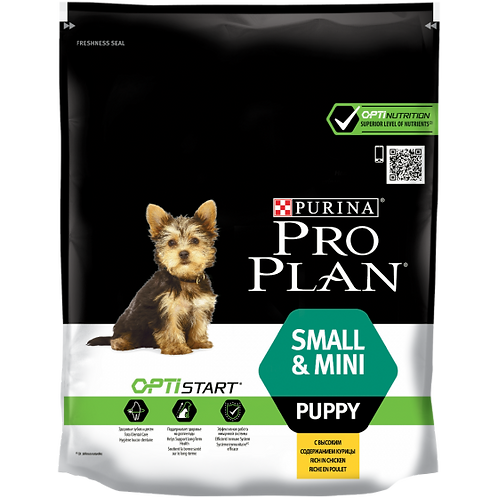 PURINA PRO PLAN Small&Mini Puppy OptiStart Crocchette con Pollo 700 Gr.