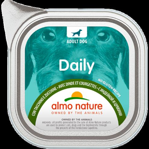 Almo Nature cane DailyMenu con Tacchino e Zucchine 100/300 Gr.