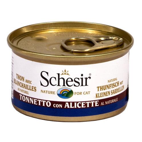 Schesir - Tonnetto con Alicette al Naturale in Acqua di Cottura 85 Gr.