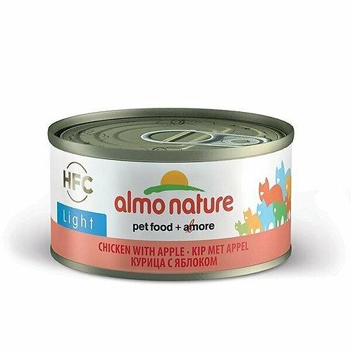 Almo Nature HFC Natural Light Pollo con Mela 70 gr