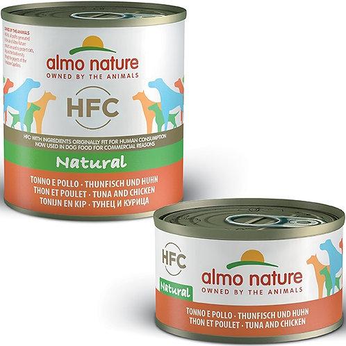 Almo Nature - HFC Natural Tonno e Pollo 95 Gr.