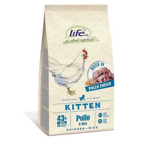 Life Pet Care - Natural Ingredients Kitten con Pollo