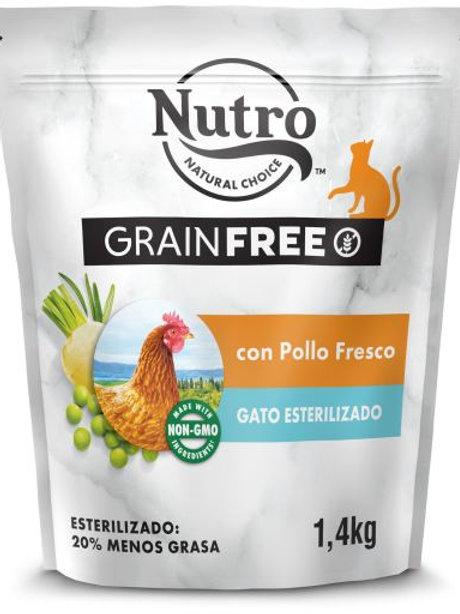 Nutro Grain Free Gatto Sterilizzato con Pollo Fresco 1.4 Kg.