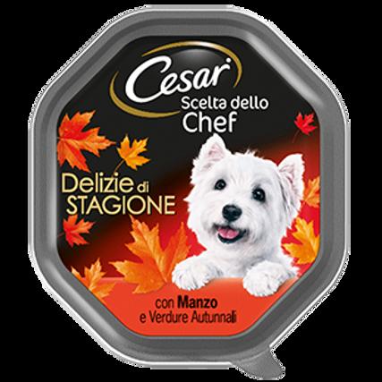 Cesar Scelta dello Chef Delizie di Stagione con Manzo e Verdure  150 Gr.
