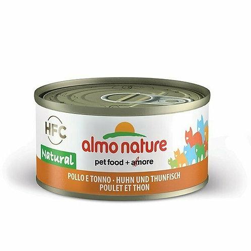 Almo Nature HFC Natural Pollo e Tonno 70 gr