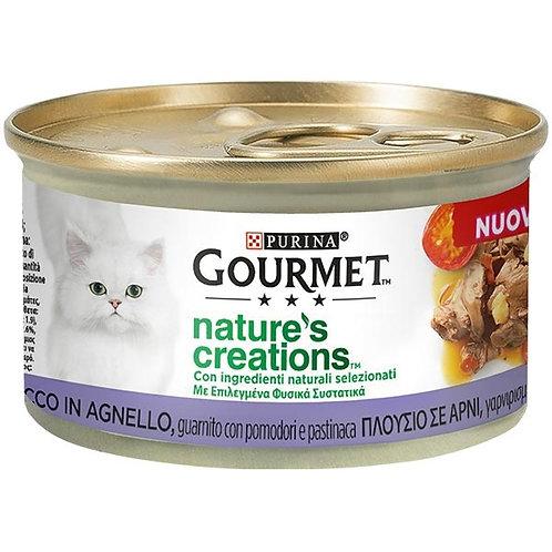 Nestle' Purina - Gourmet Nature's Creations, Agnello con Pomodori e Pastinaca 85